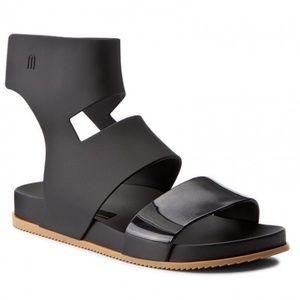 Melissa | Cosmic Flygrl Black Jelly Sport Sandal 6
